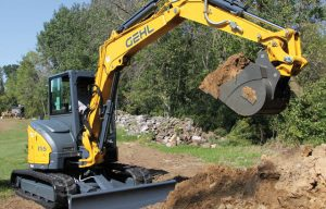 Gehl Compact Excavators Summarized — 2017 Spec Guide