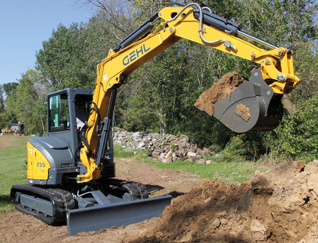 gehl-excavator