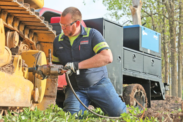 hand tools on the jobsite