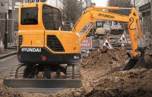 Hyundai Compact Excavators Summarized — 2017 Spec Guide