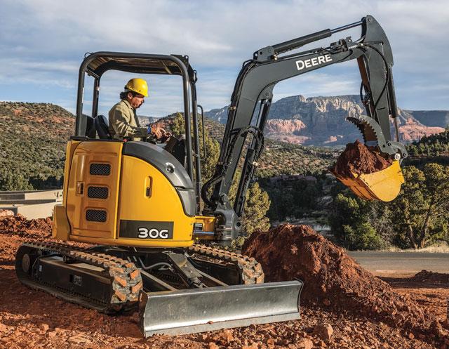 John Deere Compact Excavators Summarized — 2017 Spec Guide