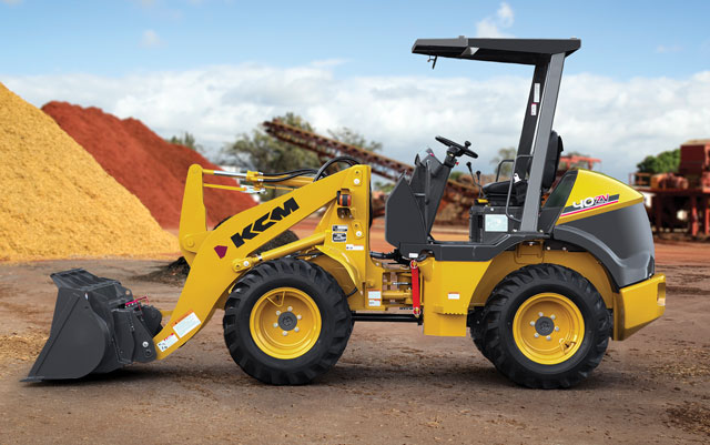 KCM-Hitachi Construction Machinery Group wheel loader