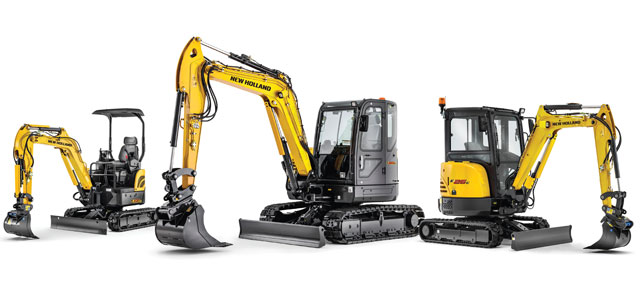 New Holland Excavators