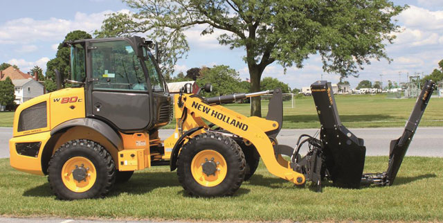 New Holland wheel loader