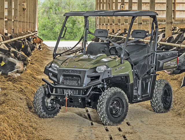 Polaris utility vehicle