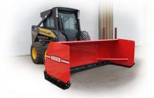 Hiniker Introduces New Skid Steer Snow Pushers