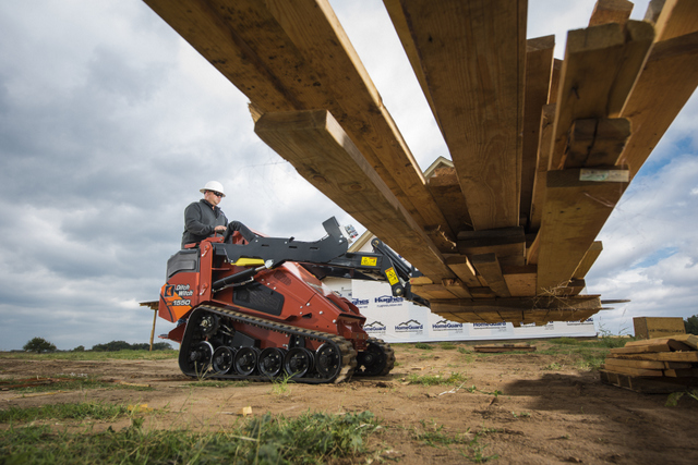 Ditch Witch compact tool carrier