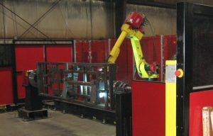 New Robotic Welder Helps Improve Attachment Manufacturing for Worksaver