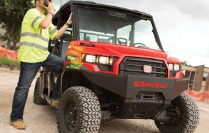 Gravely Utility Vehicles Summarized — 2017 Spec Guide