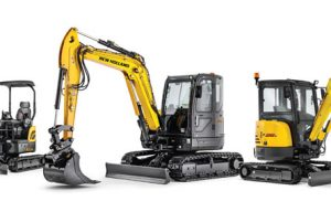 New Holland Compact Excavators Summarized — 2017 Spec Guide