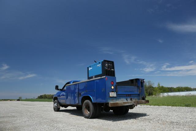 Miller Electric Work Truck