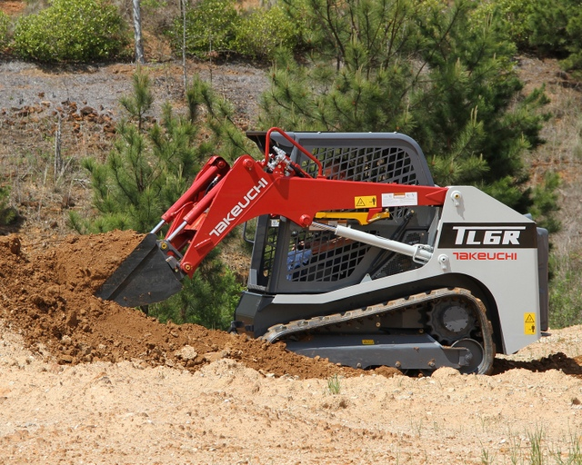 Takeuchi TL6R Dirt Work #1-001