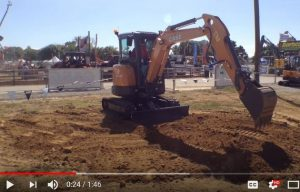 Watch: Case Construction demonstrates its CX line of mini excavators at ICUEE 2017