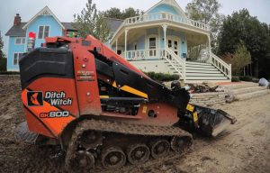 Job Story: Ditch Witch's SK800 Spearheads Landscaping Projects in Historic Michigan