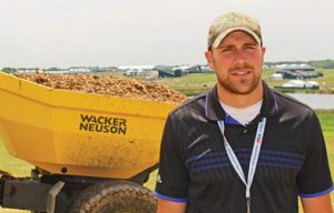 Wacker Neuson Dedicated Dumpers Help out at the U.S. Open