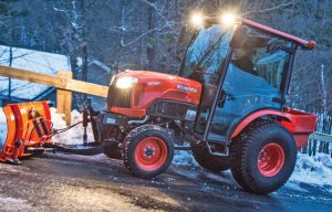 Get Snow Ready: Prepare and Maintain Your Compact Tractor for Work During the Winter Months