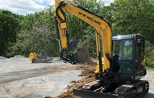 New Holland Construction Showcased New Line of Mini Excavators at GIE+EXPO