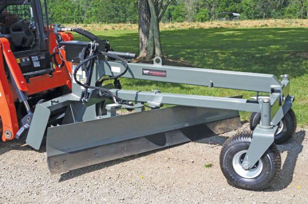 Grade School: Skid Steer Blades, Box Scrapers and Rakes Tackle Soil