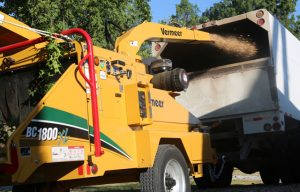 Vermeer Now Offers the BC1800XL Brush Chipper with Gas Engine