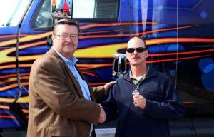Navistar OnCommand Connection Sweepstakes Winner Receives International ProStart