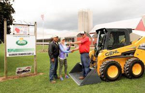 Baudhuin's Grandview Dairy Wins Gehl R190 Skid Loader