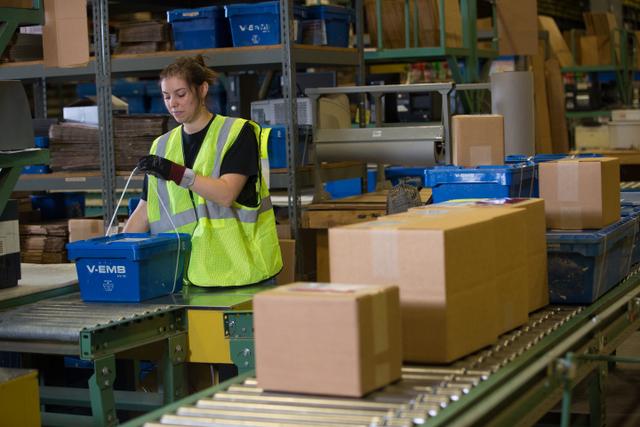 Volvo warehouse parts