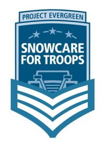 Snowcare for Troops logo