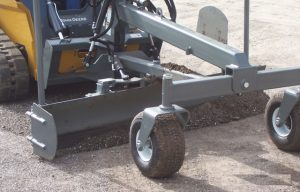 Attachment Experts at Worksaver Launch Skid Steer Grader Blade