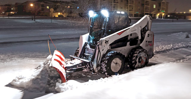 Five Steps to Keep Your Skid Steer Loader from Taking a Snow Day