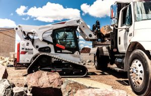 New Bobcat Pallet Fork Frame Attachment Features a Walk-Through Design for Easier Entry and Exit
