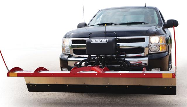 tilt lift plow