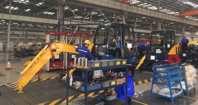 LiuGong's Changzhou Factory