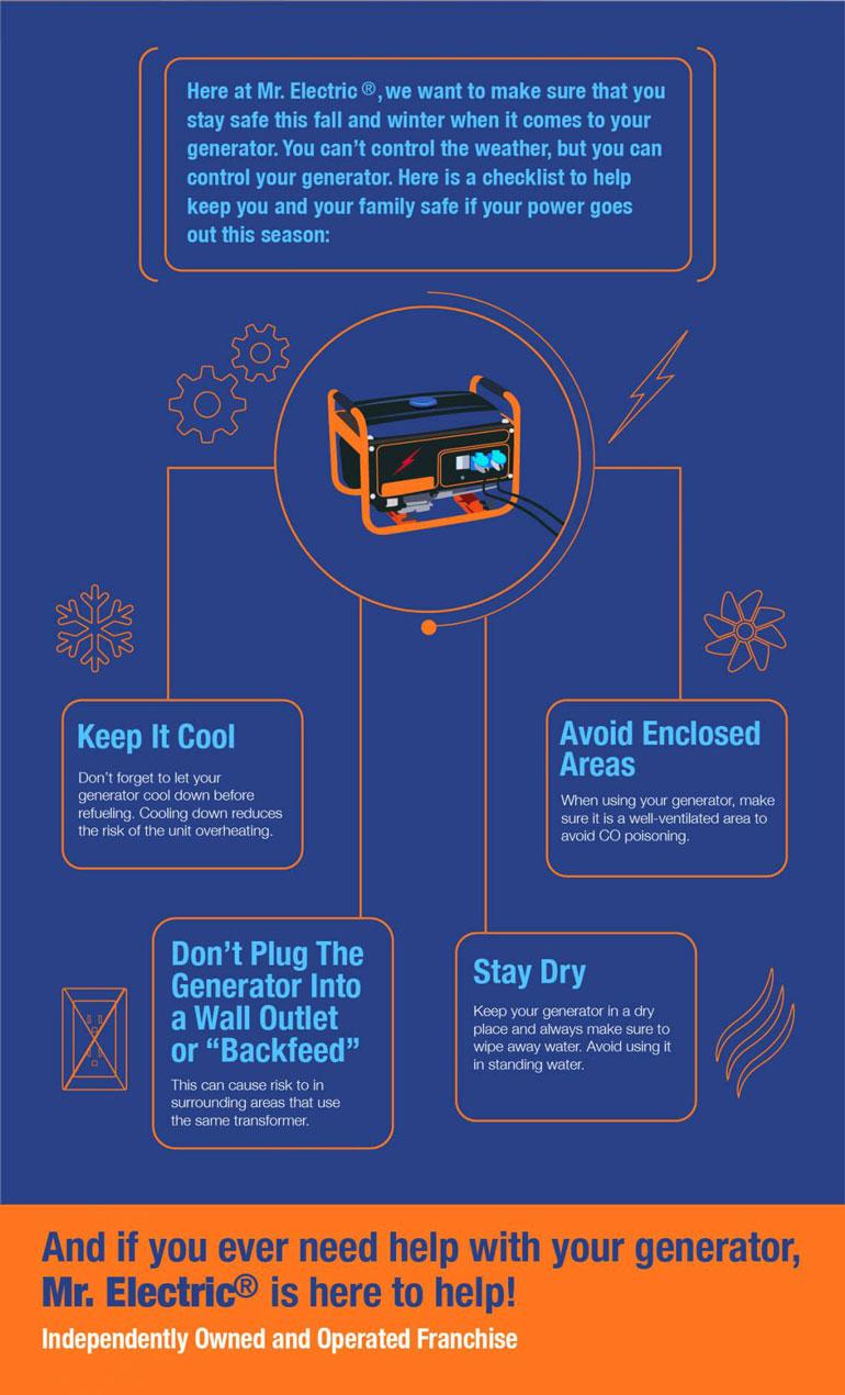 generator safety checklist
