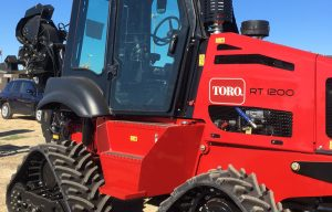 Toro Introduces New Riding Trencher Cab Option