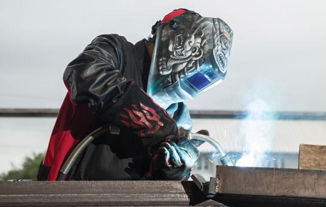 weld helmet