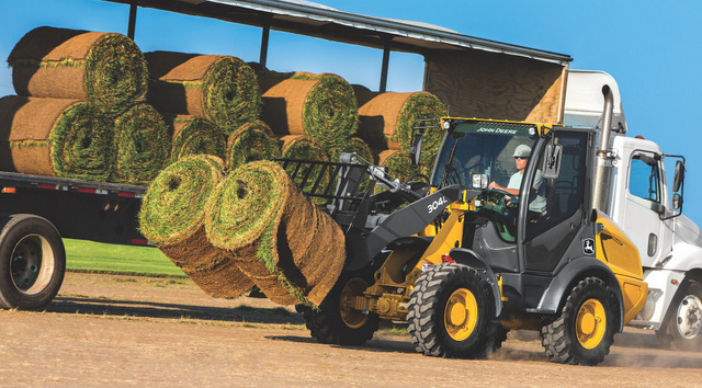New John Deere L-Series Compact Wheel Loaders Tackle Toughest