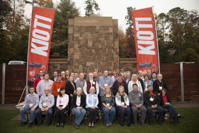 Kioti dealer meeting photo 2017