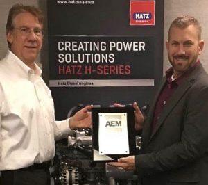 aem awards hatz diesel