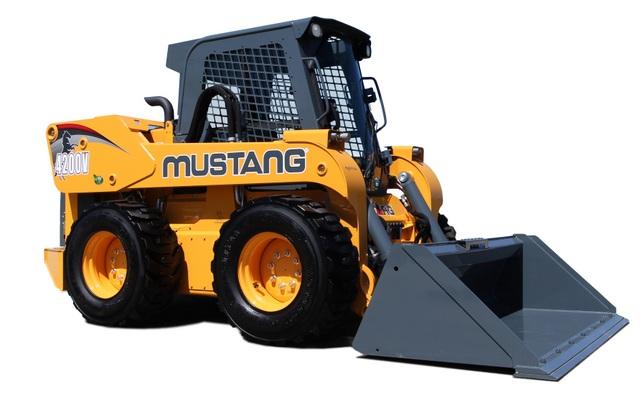 4200V skid steer Mustang studio