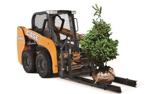 Case Introduces New Hydraulic Pallet Forks with Nursery Sleeves