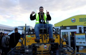 Wacker Neuson crowns new Trowel Challenge competition winner at World of Concrete