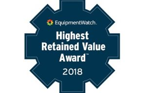EquipmentWatch Announces Finalists for 2018 Highest Retained Value Awards
