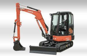 WOC Report: Kubota Introduces Two New Compact Excavators
