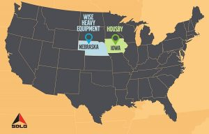 SDLG appoints new dealers in Iowa and Nebraska