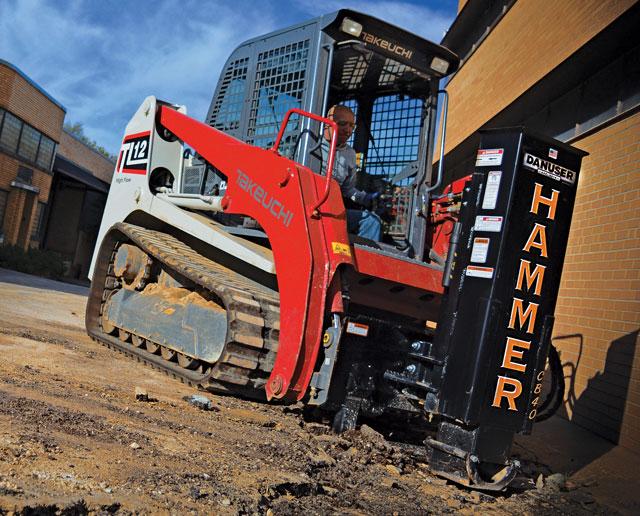 danuser drop hammer attachment