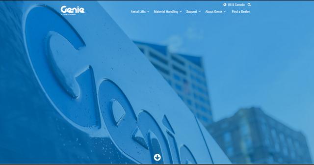 genielift-dot-com-homepage