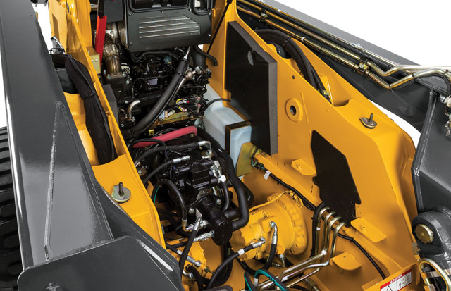 The hydraulic system on a skid steer is interconnected. Skid steers use one hydraulic reservoir for everything, so the entire system is at risk if there are problems with one component.