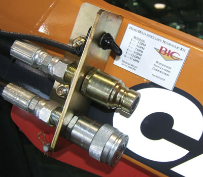 skid steer hydraulics