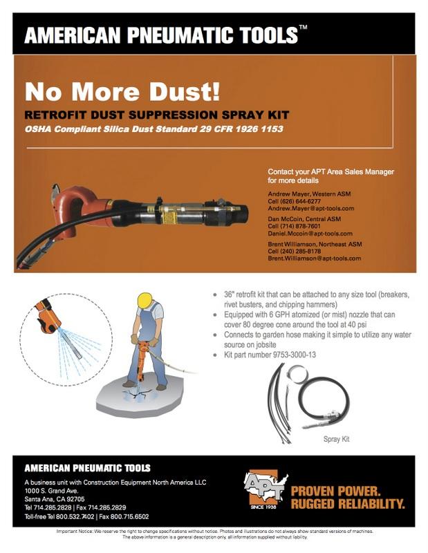 APT Dust Supression Flyer