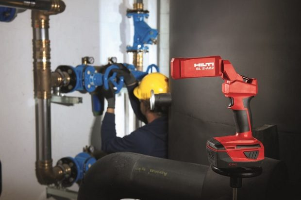 Shine the Light on Productivity with the New Hilti Task Light SL 2-A22